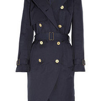 Yves Saint Laurent | Cotton-gabardine trench coat | NET-A-PORTER.COM