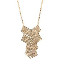 Coral Reef Chevron Necklace - 2020AVE