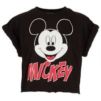 Mickey Crop Top - Comic Girl - Collections - Topshop