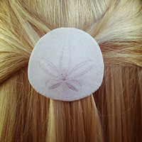 Sand Dollar Barrette