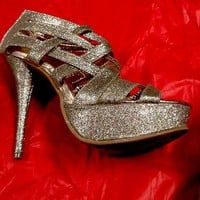 Platform Heels Sparkly