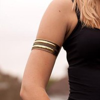 Gold Festival Arm Cuff, Armlet from likemary