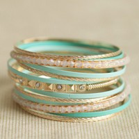 ocean riches bangle set at ShopRuche.com