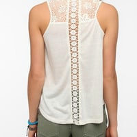 Urban Outfitters - Pins and Needles Inset-Lace Tank Top