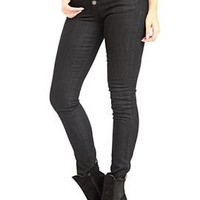 Judy Blue Black High-Waisted Skinny Jeans - 718374