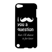 GEEK I Mustache You a Question Case iPod Touch by SephiaAndromeda