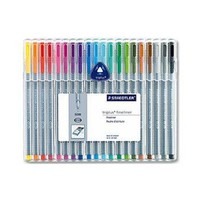 Staedtler Triplus Fineliner Color Pen Set of 20