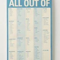 All Out Of Notepad - Anthropologie.com