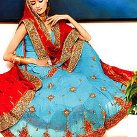 Turquoise Gharara, Traditional Gharara, Bridal Gharara for Valima Reception Walima Dress