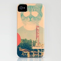 Cool Cat iPhone Case by Ali GULEC | Society6