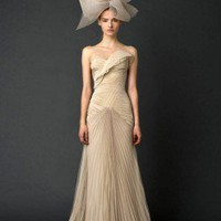 Wedding Dress Bridal Spring 2012 Look 7 - Wedding Dresses - Apparel