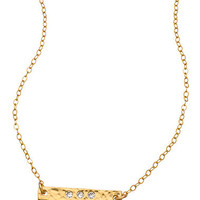 Jessica Matrasko Jewelry Tracy Crystal and Gold Necklace - Max & Chloe