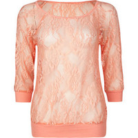 FULL TILT Lace Womens Top 187198313 | tops | Tillys.com