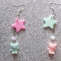 Pastel Lullaby Earrings from On Secret Wings