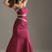 Special Design Elegant ruffled mermaid formal gowns