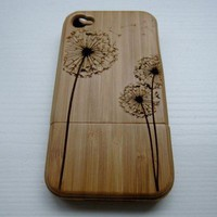 Dandelion Natural Bamboo Hard Cover.. on Luulla