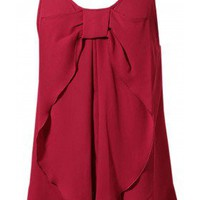 SUMMER BOW RUFFLE TOPPER - 29 and Under
