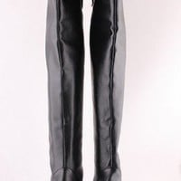 Alexandra McQueen Style Skull Leather Boots by MischaLove on Sense of Fashion