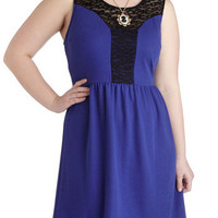 Sapphire Sensation Dress in Plus Size | Mod Retro Vintage Dresses | ModCloth.com