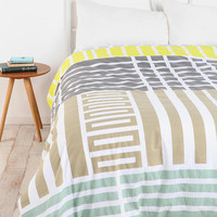 Urban Outfitters - Assembly Home Labyrinth Duvet Cover