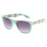 Full Tilt Maya Way Sunglasses Mint One Size For Women 21272552301