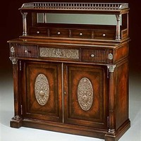 Elite furnishings. Mahogany chiffonier