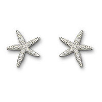 Starfish Earrings - Swarovski