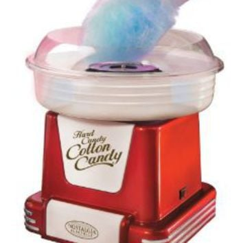 Amazon.com: Nostalgia Electrics PCM-805RETRORED Retro Series Hard & Sugar-Free Candy Cotton Candy Maker: Kitchen & Dining