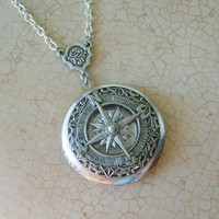 The ORIGINAL Wanderlust Adventurer Compass by EnchantedLockets