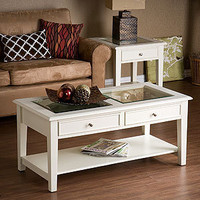 White Display Coffee Table | Living Room Furniture| Furniture | World Market