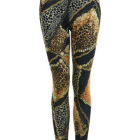 Chain Print Legging - View All  - New In  - Miss Selfridge US