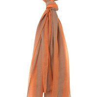 Orange Stripe Scarf - View All - New In - Miss Selfridge US