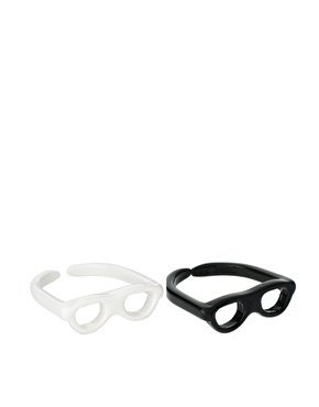 Pack of Two Adjustable Sunglasses Rings