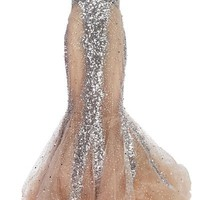 Sequined Fishtail Dress
