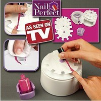 "Amazon.com: NEW HOT ITEM Nail perfect nail art polishing tool ""Perfect solution for salon perfect beautiful nails every time: Beauty"
