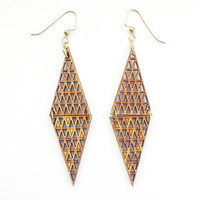 The Harbinger Co. — Double Triangle Earrings
