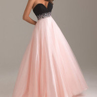 Sexy Strapless Formal Cocktail Party Wedding Gown Prom Ball Long Evening Dress