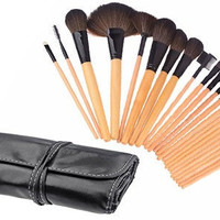 24 Piece Professional Makeup Brush Set