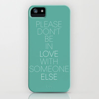 Enchanted...Taylor Swift. *Seafoam Green iPhone Case by L.H.B | Society6