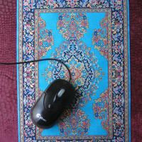 $9.99 MOUSE PAD Persian rug design BIG carpet 76x12 by sendmeamirror