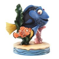 Jim Shore Disney Traditions Nemo and Dory Figurine, 5.375-Inch