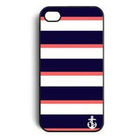 Amazon.com: anchor stirp Snap on Case Cover for Apple Iphone 4 Iphone 4s: Cell Phones & Accessories