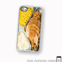 IPhone 4 4S Hard Case Retro TV Dinn.. on Luulla