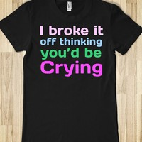 Want You Back Lyric Shirt - Fangirl faces