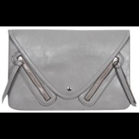 Grey Clutch - Accessories