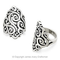 Long Sorrento Ring from James Avery