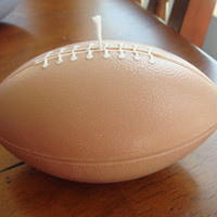Soy Football Shaped Wick/Tea light Candle by JaxxCandles on Etsy