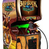 Big Buck Hunter World Arcade Game