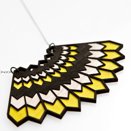 Poketo Plumage Necklace