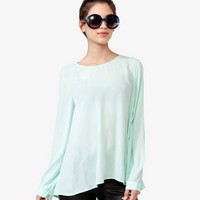 Flowy Georgette Top | FOREVER 21 - 2040495970